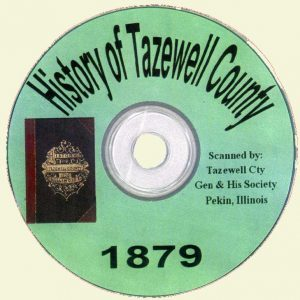 1879 History of Tazewell County CD-ROM