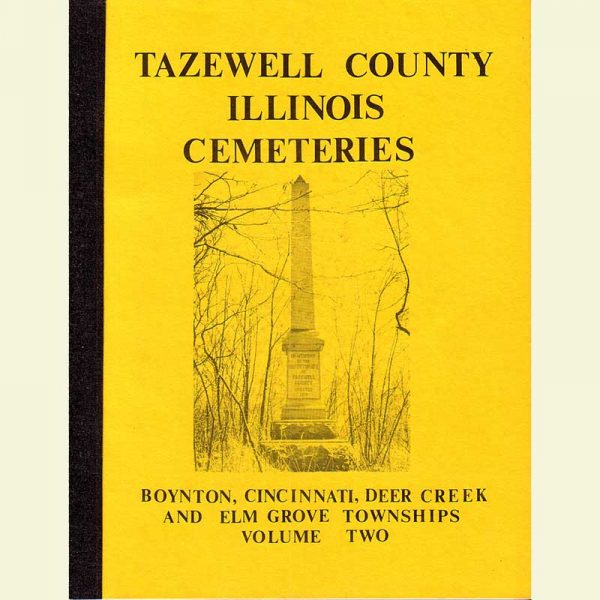 Cemetery Vol 2 - Boyton, Cincinnati, Deer Creek, & Elm Grove Twps