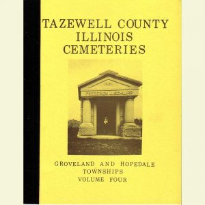 Cover - Cemetery Volume 4 - Groveland & Hopedale Townships