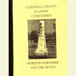 Cover - Cemetery Volume 7 - MortonTownship