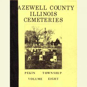 Cover - Cemetery Volume 8 - Pekin Township
