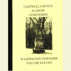 Cover - Cemetery Volume 11 - Washington Township