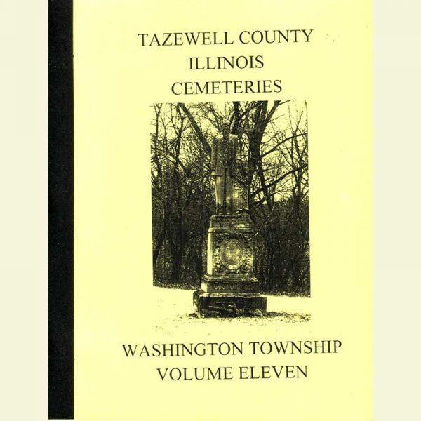 Cover - Cemetery Volume 11 - Washington Township