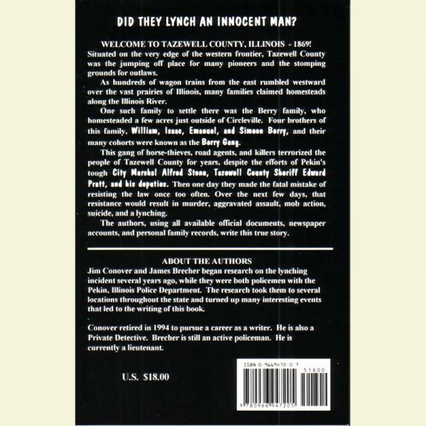 Back Cover - Lynch Law
