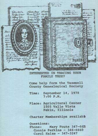 TCGHS Society Formation Flyer