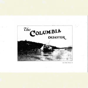 Cover for Columbia Steamboat Photos Booklet