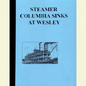 Cover for Columbia Sinks at Wesley Booklet
