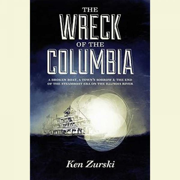 Front Cover of the Wreck of the Columbia Book