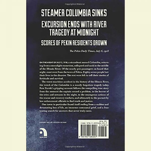 Back Cover of the Wreck of the Columbia Book