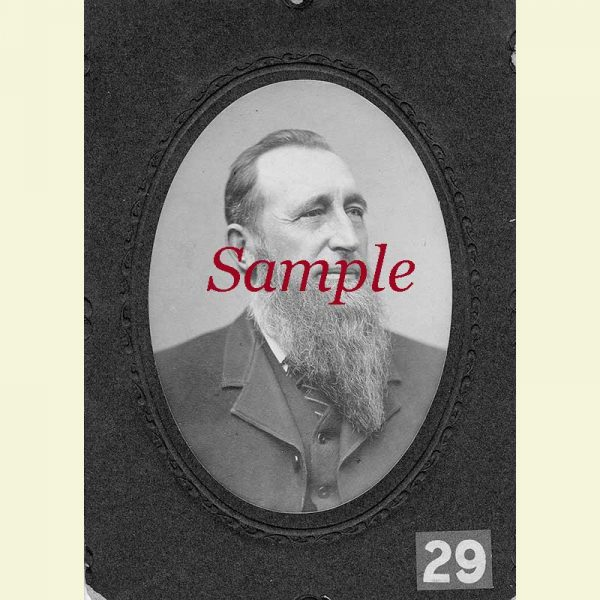 Sample Notable Man Photo