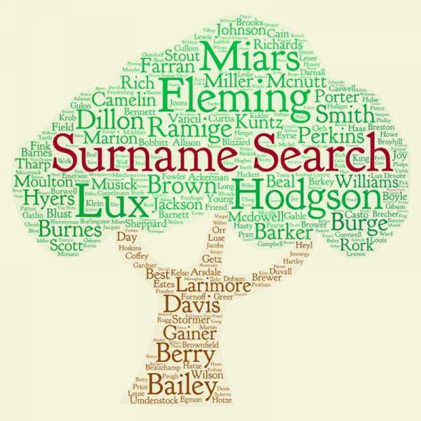 Surname Search Graphic