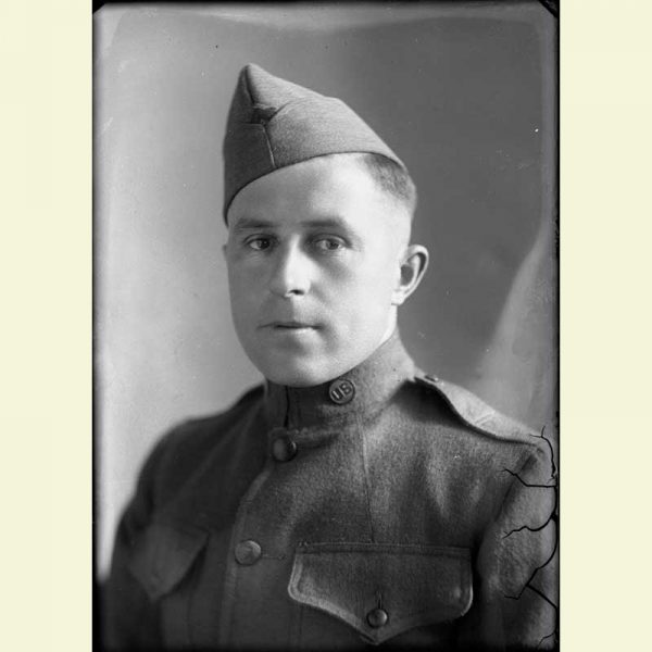 Photo of World War I Soldier Photo