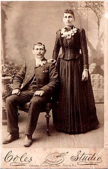 Jacob & Elizabeth Fischer Wedding Photograph