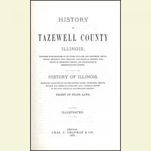 Title Page - History of Tazewell County - 1879
