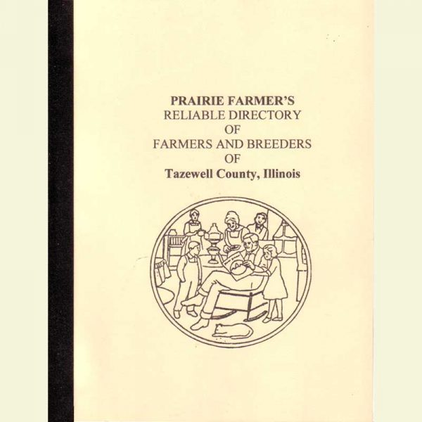 Front Cover - Prairie Farmers Directory - 1917