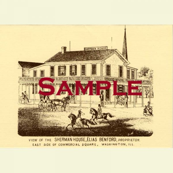 Sherman House (Washington) Notecard