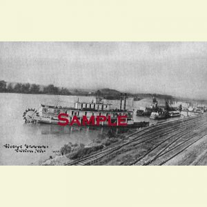 Illinois River Steamboat Illinois Postcard