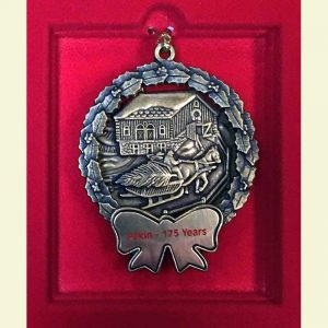 Pekin 175th Anniversary Christmas Ornament
