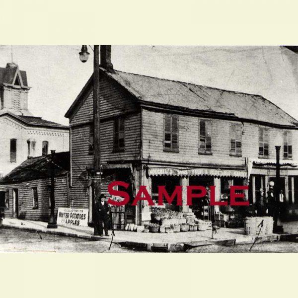 Pekin Moeckel's General Store Postcard