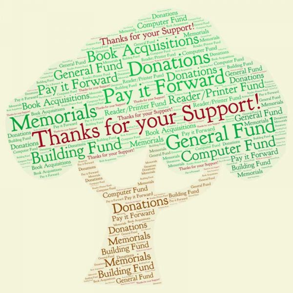Donation Words Cloud