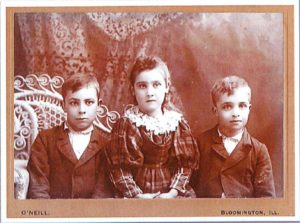 Mystery Photo December 2018 - Who are these children, possibly from the Mackinaw area? Photographer Owen B. O'Neil was born in