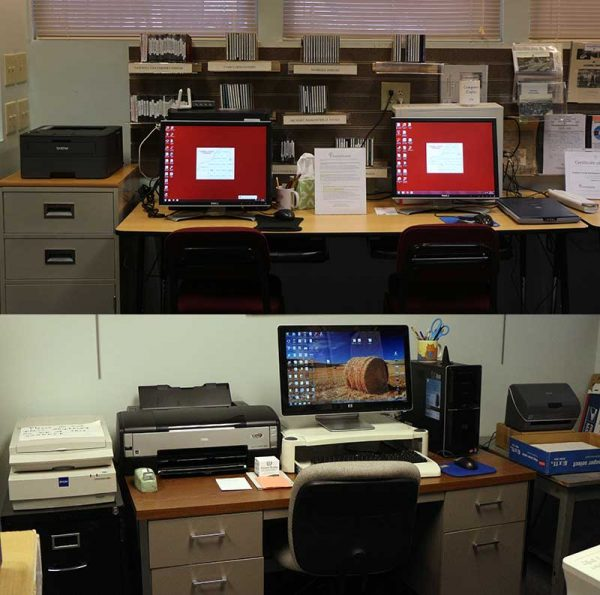 Photos of Society Computer Equipment