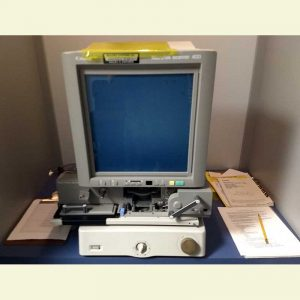 Photo of Microfilm Reader/Printer