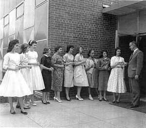 Photo of YWCA Dedication in June 1959