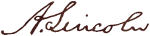 Image of A. Lincoln Signature