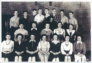 Photo of 1943/1944 Green Valley High School class