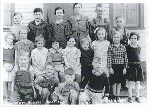 December 2019 Mystery Photo - Danforth School, District 16, 03 March 1937