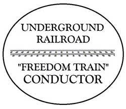 Graphic of Underground Railroad Medallion