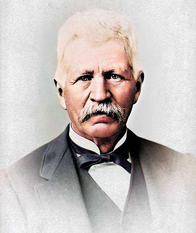 Photo of John App in 1895