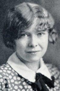 1929 graduation photo of Sarah Jane Prettyman