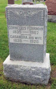 Photo of Cornelius & Cassandra Fuhrman Tombstone